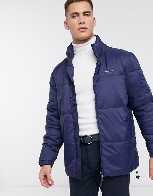 Bellfield – Granatowa kurtka pikowana