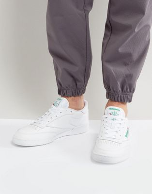 Белые кроссовки Reebok Club c 85 ar0456