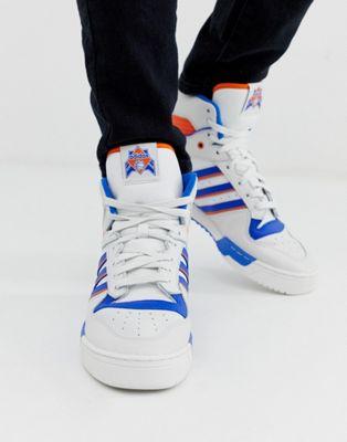 Изображение 1 из Белые высокие кроссовки adidas Originals rivalry