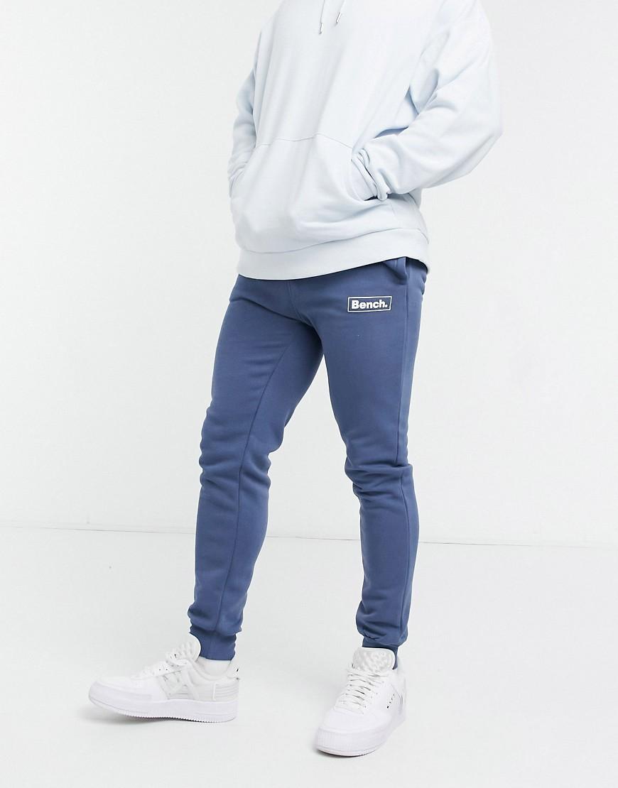 Bench - Blå joggingbukser med logo - Del af sæt