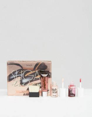 Benefit Sugarlicious Deliciously Nude Lip & Cheek Blusher Kit