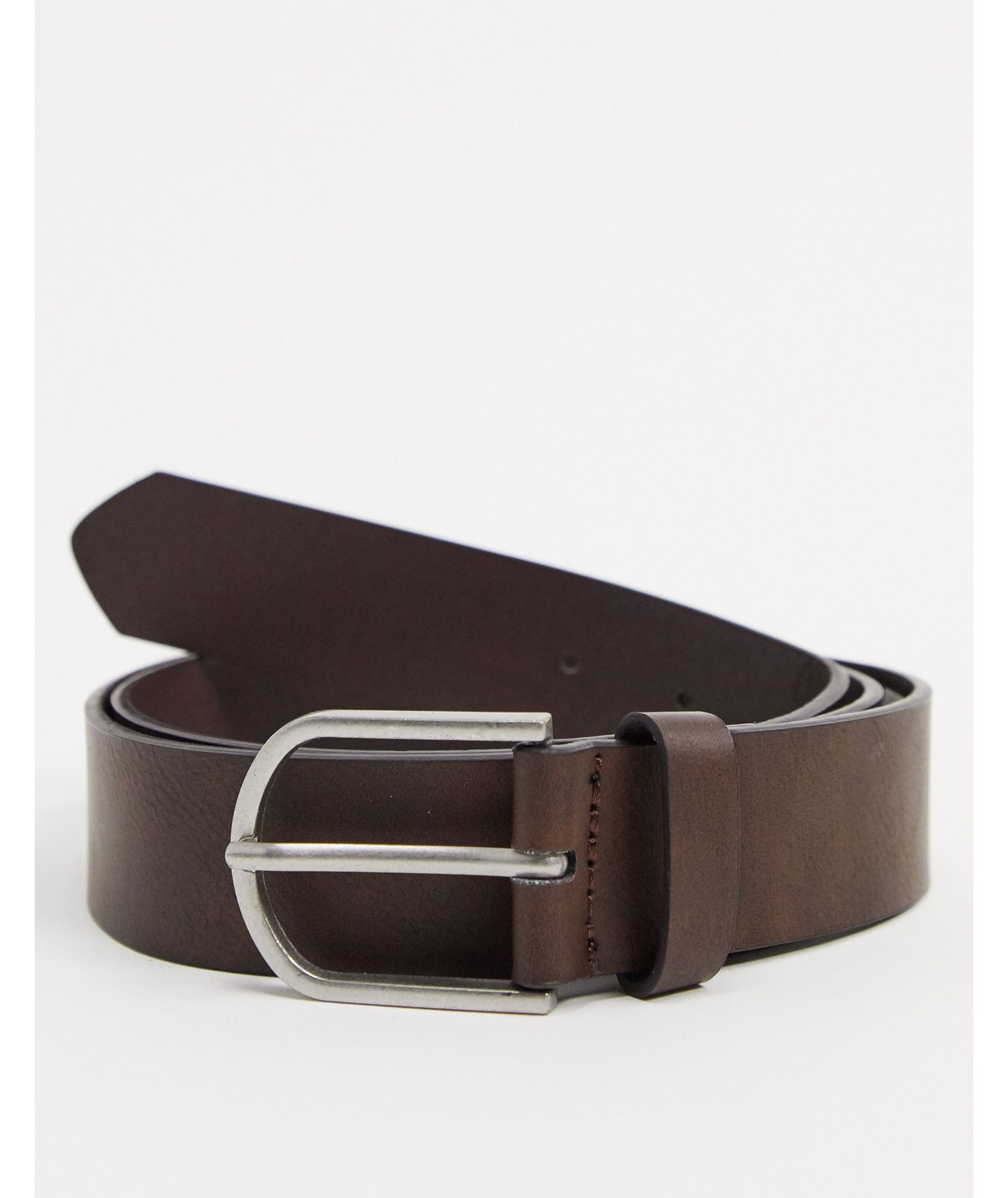 Bershka belt in dark brown - ASOS Price Checker