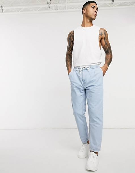 Bershka pants in blue