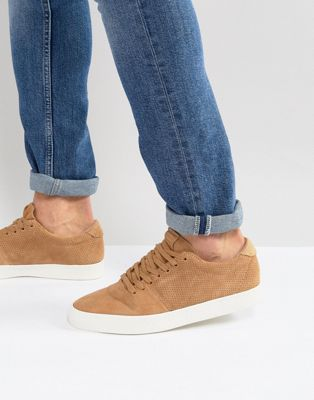 Bershka Trainers In Tan