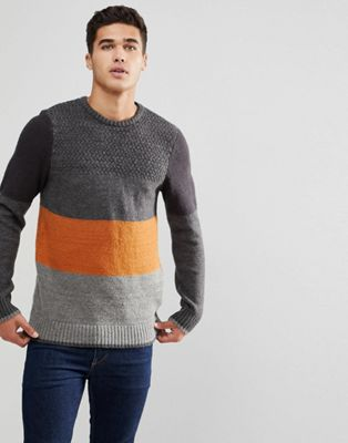 Image 1 of Blend Block Stripe Sweater