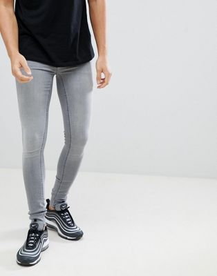 Blend flurry muscle fit jeans in grey