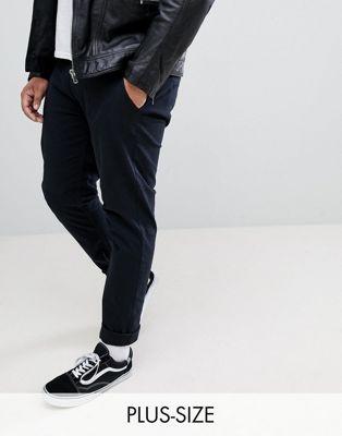 Blend plus slim fit chino in black