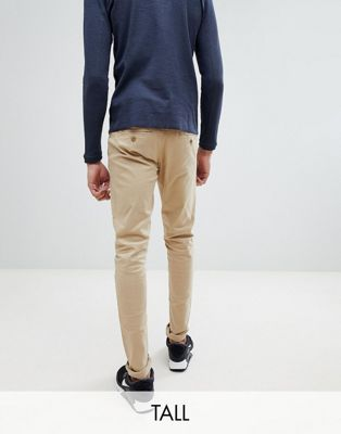 Blend TALL Slim Fit Chino in Beige