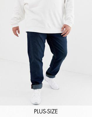 Bild 1 av Blend – Twister – Mörkblå, tvättade jeans med smal passform