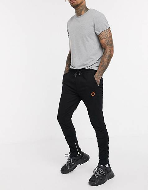 Blood Brother ruched skinny leg pants in black