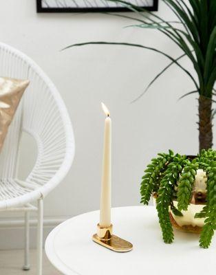 Bloomingville – Goldener Kerzenständer