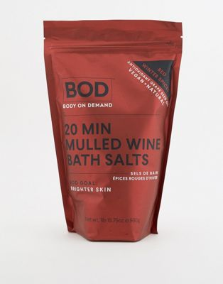 BOD 20min mulled wine bath salts