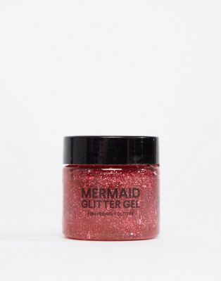 BOD Mermaid Body Biodegradable Glitter Gel - Pink