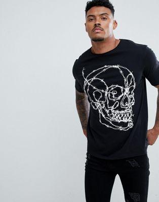 Bolongaro Trevor – T-Shirt mit Totenkopfprint
