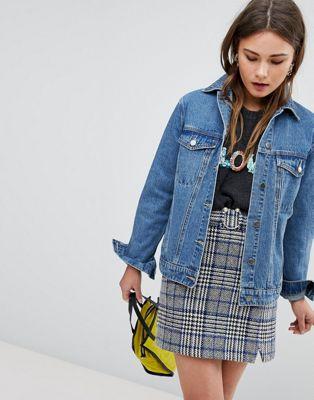 Boohoo - Veste oversize en jean