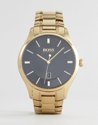 BOSS 1513521 Governor Bracelet Watch In Gold