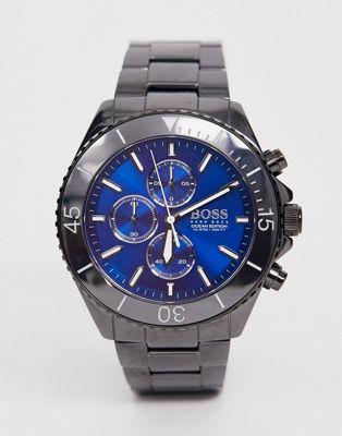 BOSS – 1513743 Ocean Edition Chrono – Armbanduhr-Schwarz