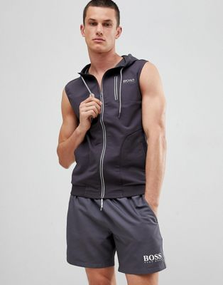 BOSS Beach Vest with Hood
