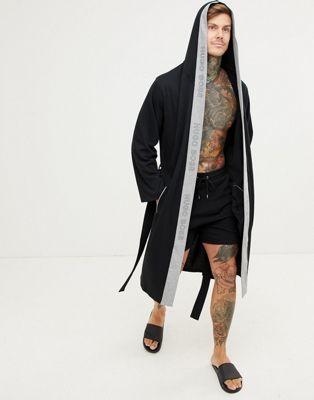 BOSS bodywear Identity hooded dressing gown