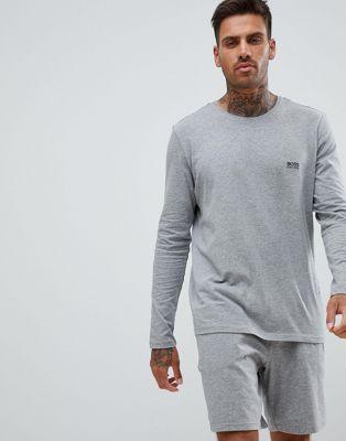 BOSS – Bodywear – Langärmliges Shirt