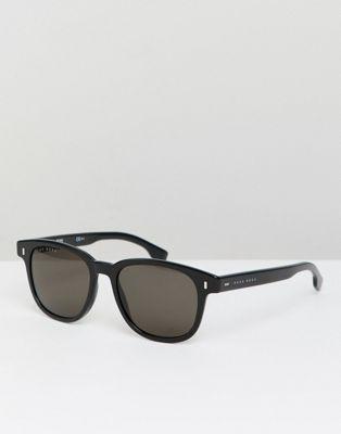 BOSS By Hugo Boss Round Sunglasses In Black