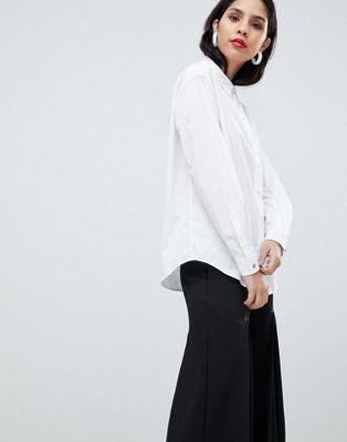 Boss - Camicia casual con pieghe