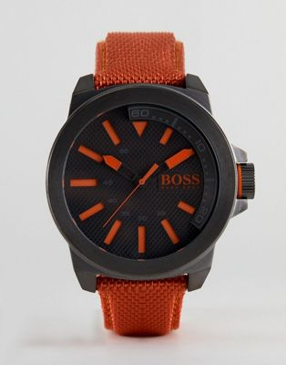 BOSS Orange By Hugo Boss New York Watch With Orange Strap