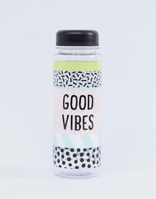 Botella de agua Good Vibes de Sass & Belle