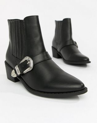 Botines con diseño estilo western de Truffle Collection