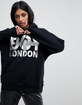 Boy London Eagle Logo Hoodie