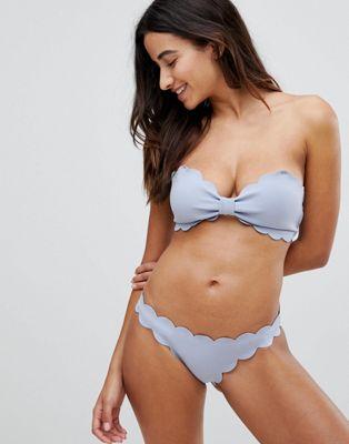 Braguita de bikini festoneada de Y.A.S