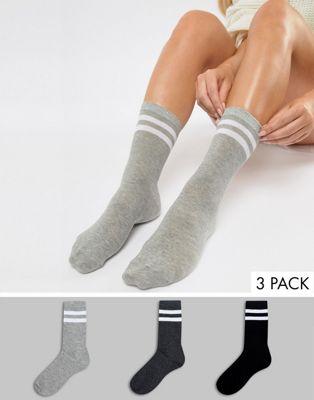 Brave Soul 3 pack sport socks
