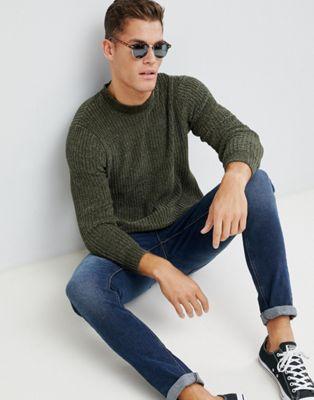 Brave Soul Chenile Turtleneck Sweater