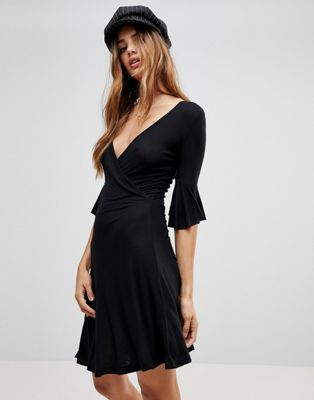 Brave Soul Holly Wrap Dress