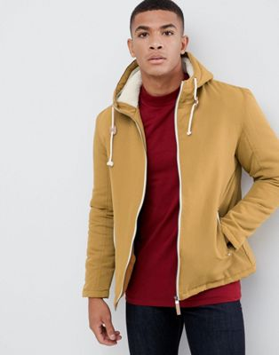 Image 1 of Brave Soul Hooded Jacket With Toggles