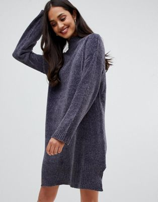 Image 1 of Brave Soul Jamie Sweater Dress in Chenille
