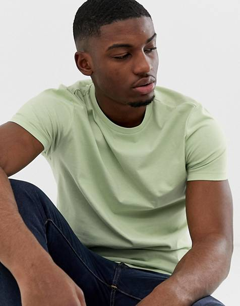 Brave Soul organic cotton t-shirt in green