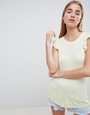 Bild 1 von Brave Soul – Tara – Trägershirt mit gerüschter Schulterpartie