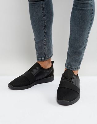 Brave Soul Trainers In Black