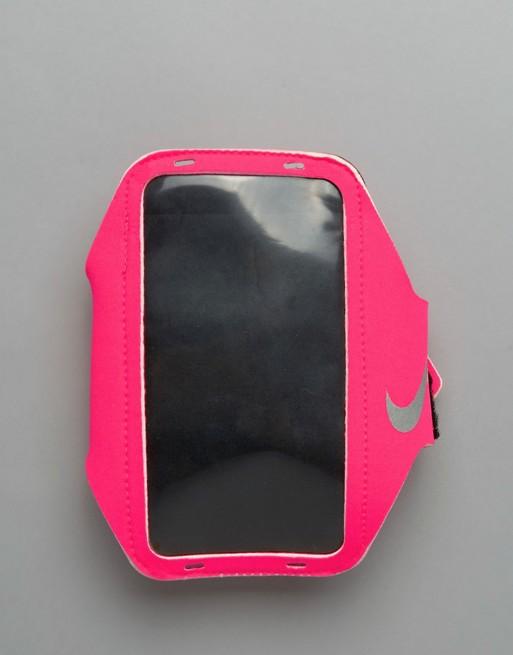 Imagen 1 de Brazalete rosa liso de Nike