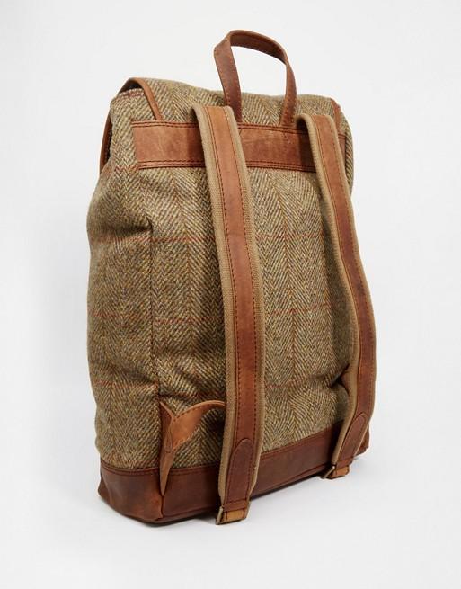 Harris Tweed Belt Company X British Backpack H2W9EDI