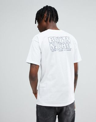 Brixton Vitus T-Shirt With Back Print