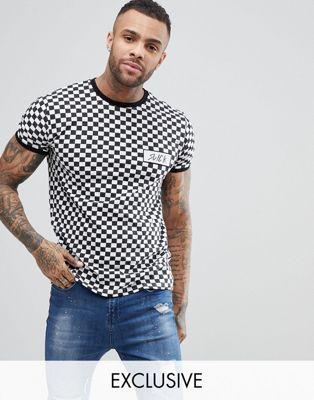 Image 1 of Brooklyn Supply Co Checkerboard Slick T-Shirt