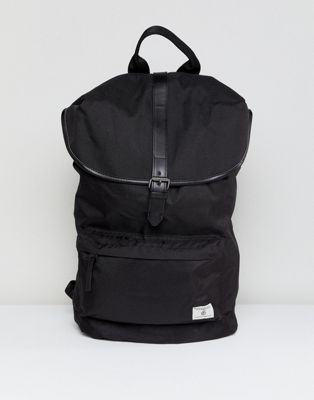 Burton Menswear backpack with front pocket in black