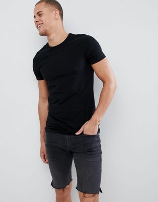 Burton Menswear Muscle Fit T-Shirt In Black