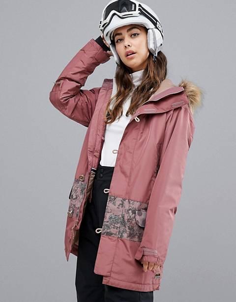 Burton Snowboards Shadowlight parka jacket in brown