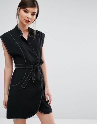 C/Meo Collective - Right Now - Mini-jurk met overslag