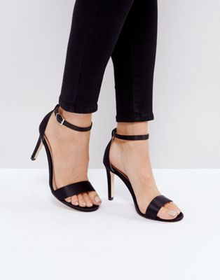 Call It Spring Ahlberg Satin Barely There Heeled Sandals