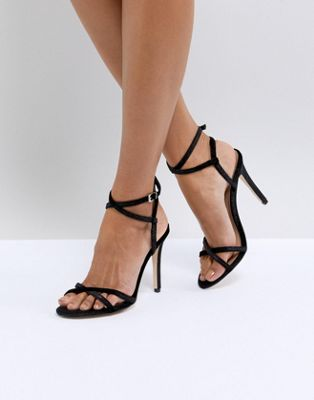 Call It Spring Fiven Strappy Barely There Heeled Sandals