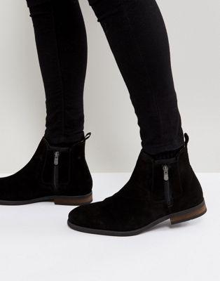 Call It Spring - Ocade - Suède laarzen met rits in zwart